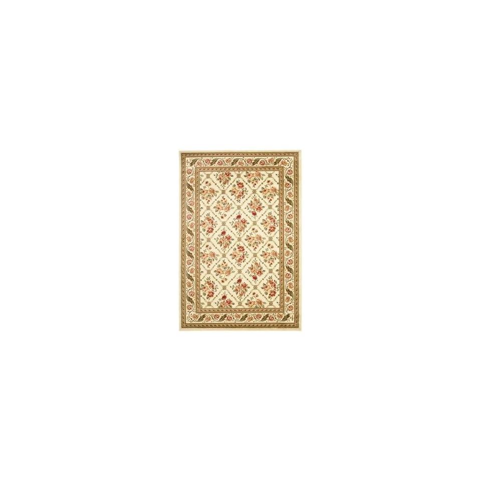 Safavieh Lyndhurst LNH556 1212 4 x 6 Ivory Area Rug