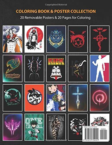 Coloring Book & Poster Collection: Anime Ichigo In A ...