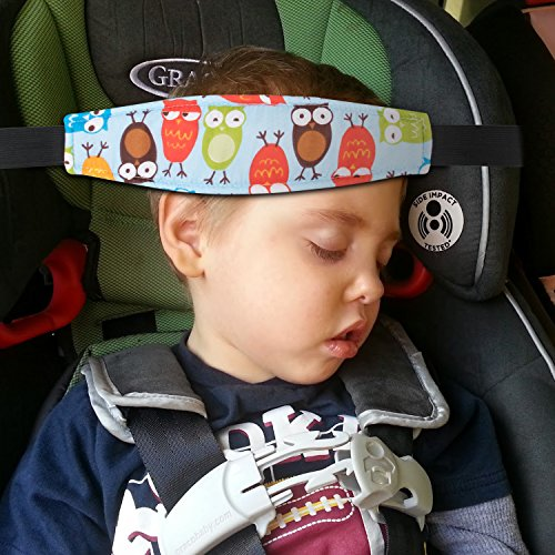 2 Head Body Supports Packs Toddler Car Seat Neck Relief And