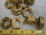 Hex Jam Nuts 3/4-16 Brass Lot of 4#4967 - Quality Assurance from JumpingBolt