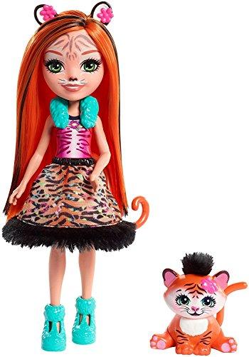 Price comparison product image Enchantimals Tanzie Tiger Doll & Tuft Figure