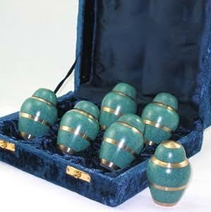 amazon com set of 6 forever urns keepsake urns 6 mini