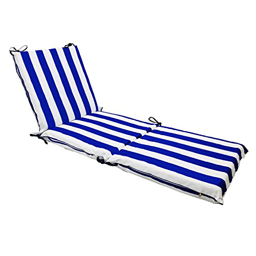 Magshion Made USA Comfort Outdoor/Indoor Pillow Chaise Lounge Seat Cushion