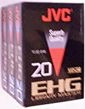 JVC VHS-C EHG 20 Library Master Compact Video