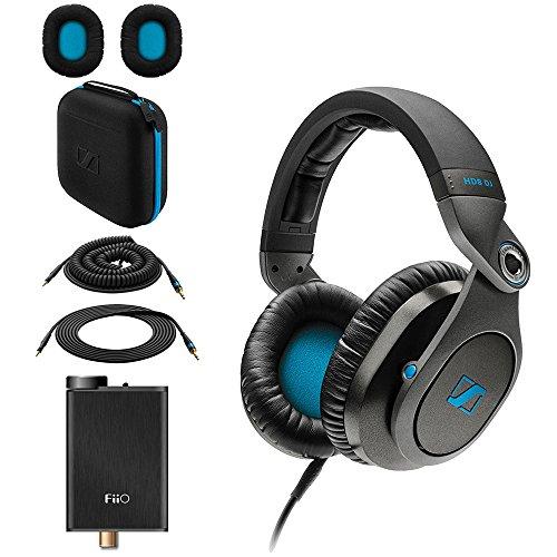 Sennheiser HD8 DJ Closed-Back Headphones + FiiO E10K USB DAC