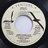 Donny Most 45 RPM Here''s Some Love / Here''s Some Love