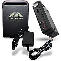 SISTEMAS GARZA Rastreador GPS Tracker Satelital con Cargador para Vehículo Moto Trailer Camion Razor