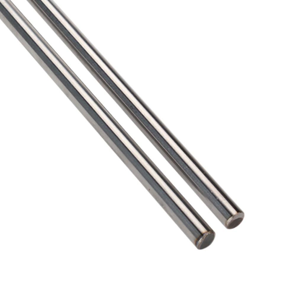 cnbtr horizontalen rund Flansch Motion Buchse /& Linear Schaft Optische Achse mit Rod Schiene Unterst/ützung Set of 5