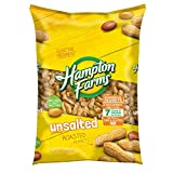 Hampton Farms Unsalted Roasted In-Shell Peanuts, 5 lbs. (pack of 2) Review