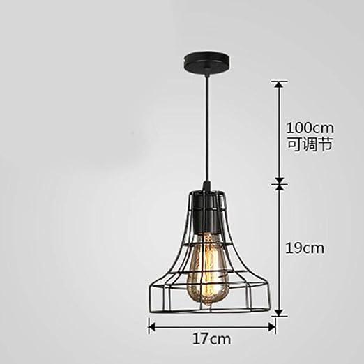 My-Zjd - Lámpara de techo, personalidad creativa, protección de ...