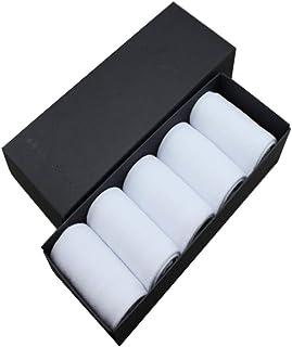 YAOBAO Chaussettes De Coton d'orteil De Mens, Sports Confortables Respirant Courir Cinq Chaussettes De Doigt pour des Hommes, 5 Paires
