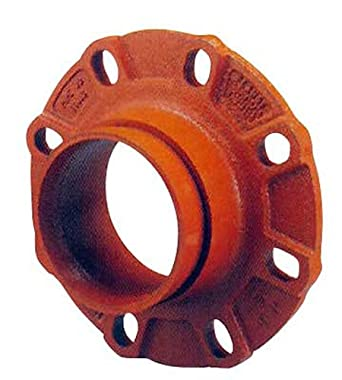 Shurjoint 71803G-G Ductile Iron Flange Adapter, Galvanize, 3