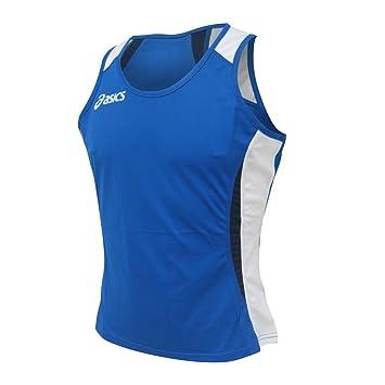 ASICS Canotta atletica running donna ANVERSA blu royal bianco T209Z6--4301