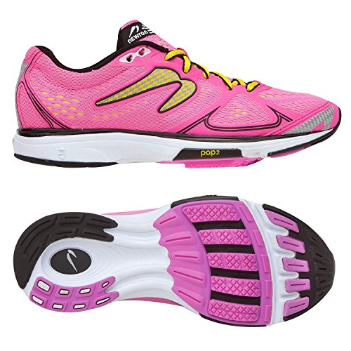 newton-running-shoes-womens-fate-pink-yellow-size-7