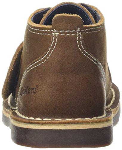 Kickers Jungen Adlar Desert Lthr Im Boots Braun (Brown)
