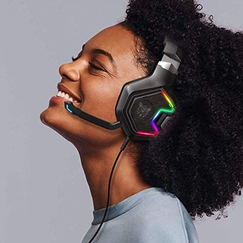 ONIKUMA Gaming Headset for PS5, PS4, Xbox Series X|S & Xbox One Games, PC Gaming Headphone with 7.1 Surround Sound, Noise Canceling Mic- for Playstation 5, Mac, Nintendo Switch, Mobile