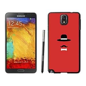 Fashion DIY Custom Designed Samsung Galaxy Note 3 N900A N900V N900P N900T Phone Case For Tie and Mustache Phone Case Cover