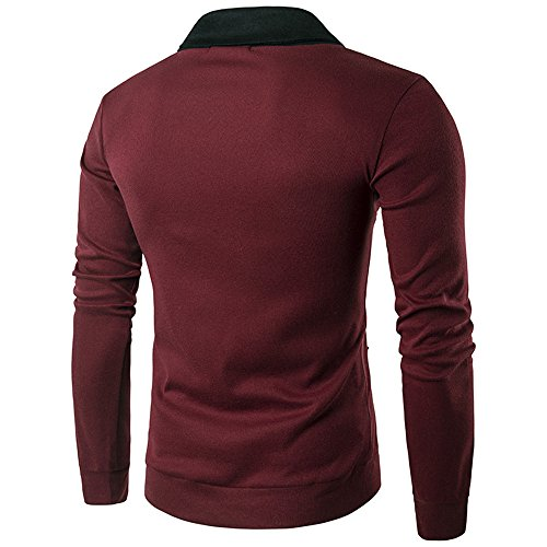 Modern Personality Color L Leisure Sets Youth Sweater Creative Men'S T Comfort Butt Sunshine Shirt Sleeved Long Knit Sweater Head ZpRxE0