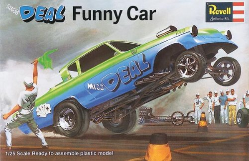Revell Miss Deal Funny Car SSP Plastic Model Kit