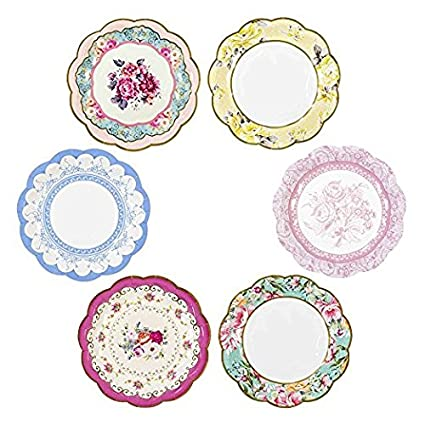 Amazon.com: Talking Tables Truly Scrumptious Vintage Floral Small ...