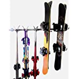 Monkey Bars Ski and Snowboard Rack