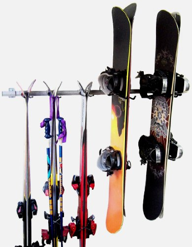 Monkey Bars Ski Snowboard Rack product image