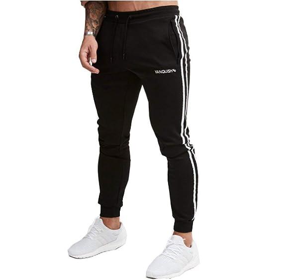 Pantalones De Chándal Pantalones Largos Chinos De Los Hombres ...