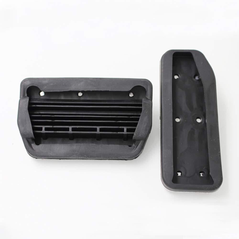 ZPARTNERS Accessoire de Voiture en Acier Inoxydable pour Jaguar XE XF F-Pace F Pace 2015 2016-2018 Repose-Pieds de Frein /à gaz Repose de Plaquettes de p/édale