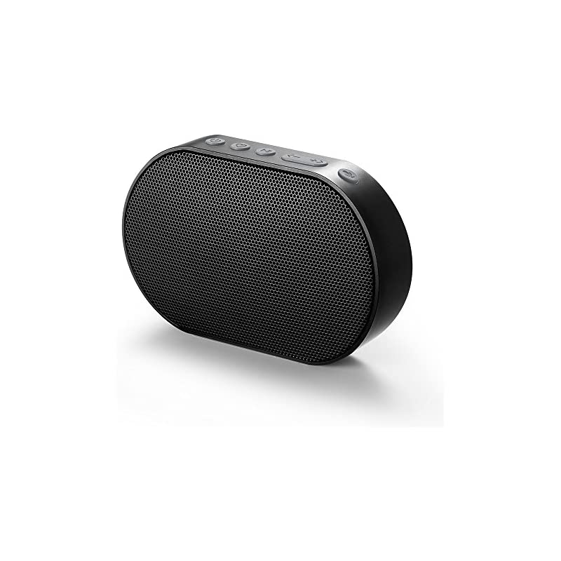 GGMM E2 Portable WiFi Bluetooth Speaker with Amazon Alexa Voice Control, Multi-Room Play, Online Streaming Music, Smart Stereo Speaker, Wireless Airplay Speaker with 10W Powerful Stereo Sound (Black)