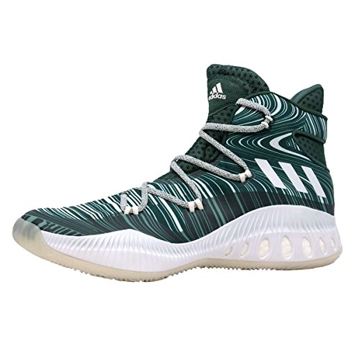 Zapatillas De Baloncesto Adidas Hombres Sm Crazy Explosive Nba Verde