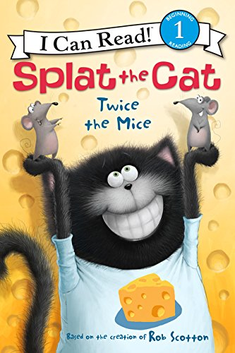 Read Online Splat the Cat: Twice the Mice (I Can Read Level 1) pdf epub
