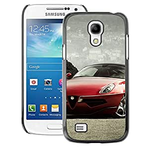 Snap-on Series Teléfono Carcasa Funda Case Caso para Samsung Galaxy S4 Mini i9190 , ( Alfa Car )
