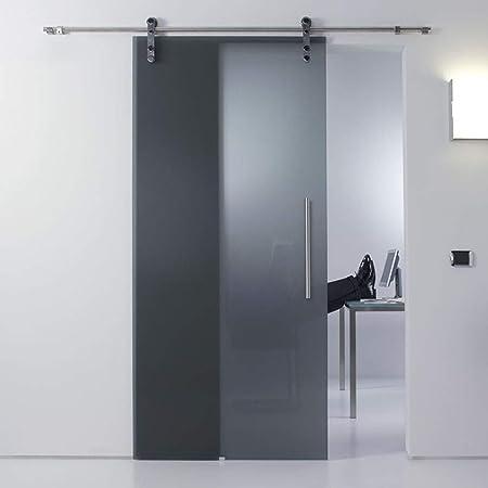 Herraje para Puerta Corredera Kit Kit de hardware de riel colgante de acero inoxidable para puerta