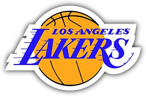 hotprint Lakers Basketball Los Angeles Sport Logo Car Bumper Sticker Decal 5 X 3