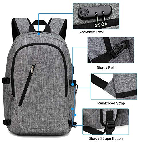 YIDUGO Backpack,Travel Bag for Men,Anti Theft College Backpack Fits to15.6 Laptop