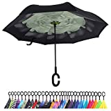 CIOR-30-Colors-Double-Layer-Inverted-Umbrella-Windproof-UV-Protection-With-C-Shaped-Hook-for-Car-and-Outdoor-Use