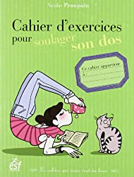 Cahier d'exercices pour soulager son dos
