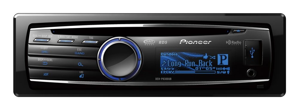 amazon com pioneer deh p8300ub cd receiver with ipod iphone control rh amazon com Pioneer Deh 6300UB Manual Pioneer Deh Wiring Harness Diagram