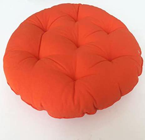 CONVER X Ethnic Customs Round Chair Cushion Floor Cushion Seat Pad Thick  Pillow (Orange