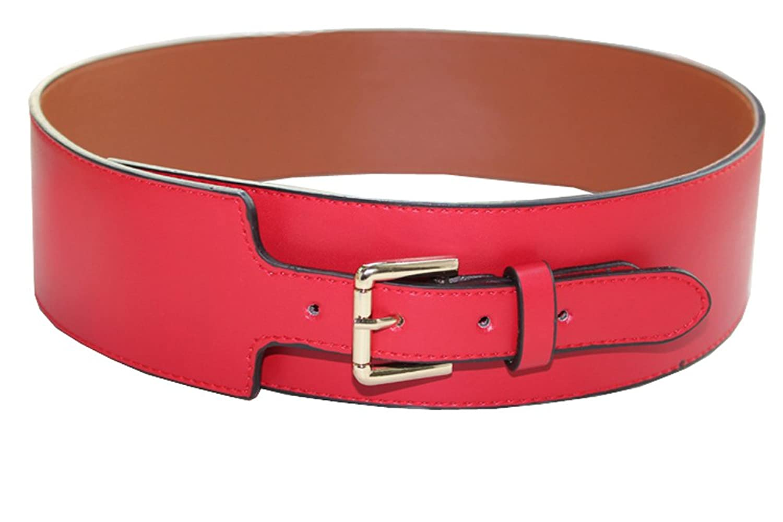 JTC Women's Wide Belts Red