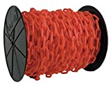 Plastic Chain, 1-1/2In x 200 ft, Red