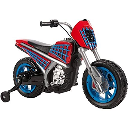 Amazon.com: Huffy Marvel Spider-Man 6 V battery-powered ...