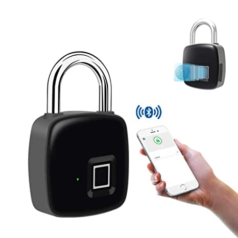 Smart Bluetooth Huella Dactilar, aplicación portátil Bloqueo de ...