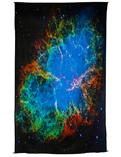 Zest For Life Outerspace Digital Print Tapestry Tablecloth Beach Sheet Wall Art Huge 53X88 Inches by Zest For Life