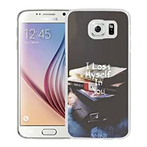 NEW Unique Custom Designed Samsung Galaxy S6 Phone Case With I Lost Myself In You_White Phone Case