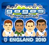 Crazy Bones Gogos England Football (Soccer) Booster Pack 2 Crazy Bones