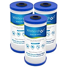 Waterdrop AP810 Whole House Water Filter, Compatible with 3M Aqua-Pure AP810, AP801, AP811, Whirlpool WHKF-GD25BB, 5 Micron (Pack of 3)