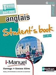 Anglais - Student's book Tle Bac Pro