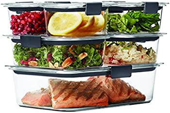 14-Piece Rubbermaid Brilliance Food Storage Container