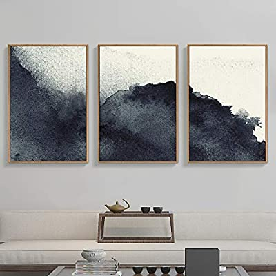 ,  Abstract Zen  Prints  Home Decoration - Nine Option - Framed Canvas